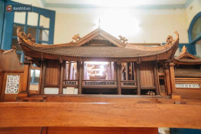 Hà Nội: Độc đáo mô hình đình làng bằng gỗ siêu nhỏ, trả giá 2 tỷ cũng không bán! - Ảnh 15.