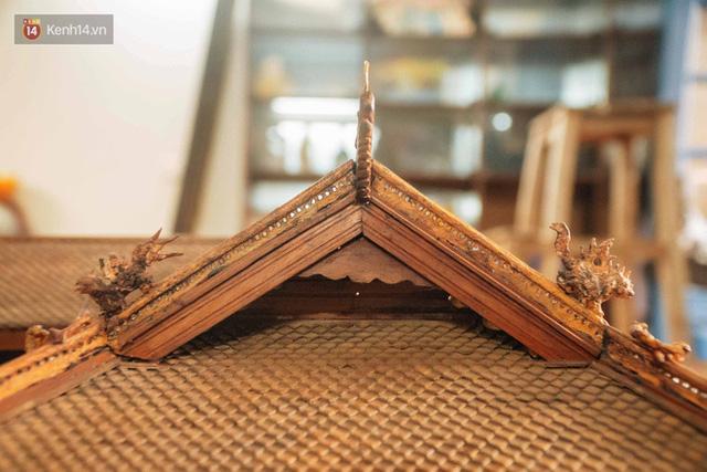 Hà Nội: Độc đáo mô hình đình làng bằng gỗ siêu nhỏ, trả giá 2 tỷ cũng không bán! - Ảnh 19.