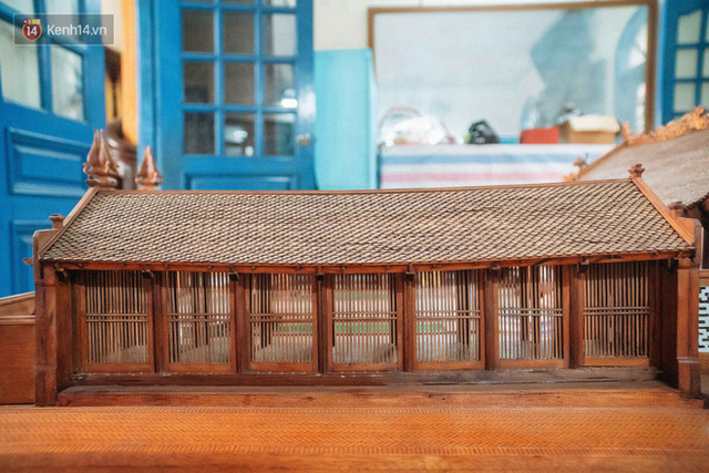 Hà Nội: Độc đáo mô hình đình làng bằng gỗ siêu nhỏ, trả giá 2 tỷ cũng không bán! - Ảnh 23.