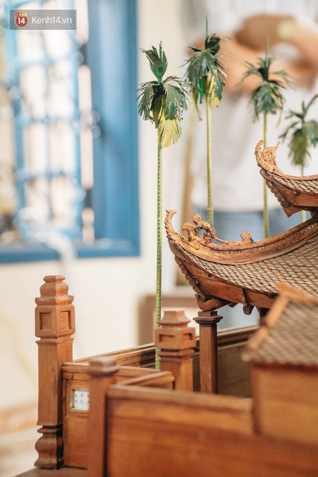 Hà Nội: Độc đáo mô hình đình làng bằng gỗ siêu nhỏ, trả giá 2 tỷ cũng không bán! - Ảnh 25.