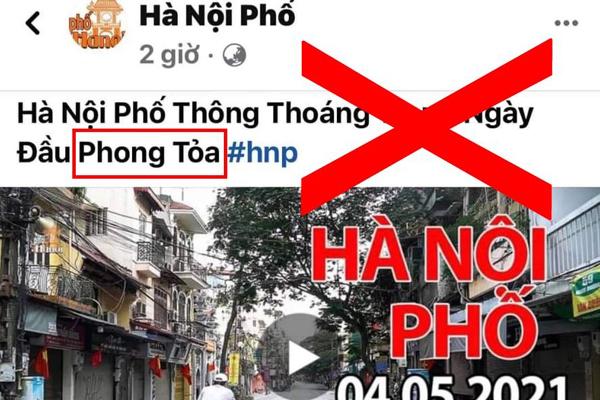 Xử phạt Youtuber Duy Nến vì đăng tin sai sự thật Hà Nội bị phong tỏa - Ảnh 1.
