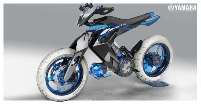 Sắp có xe Yamaha chạy bằng nước thay xăng, cơ chế hoạt động rất bí ẩn - Ảnh 1.