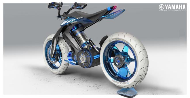 Sắp có xe Yamaha chạy bằng nước thay xăng, cơ chế hoạt động rất bí ẩn - Ảnh 3.