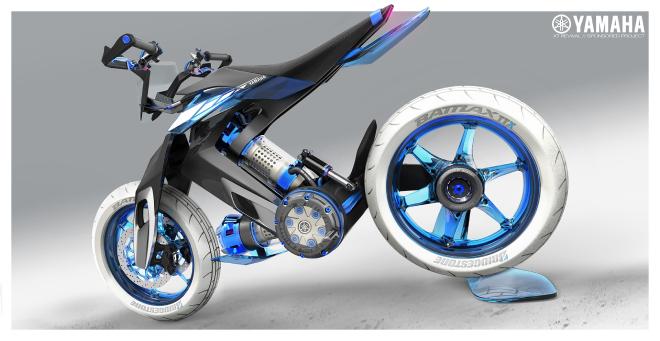 Sắp có xe Yamaha chạy bằng nước thay xăng, cơ chế hoạt động rất bí ẩn - Ảnh 4.