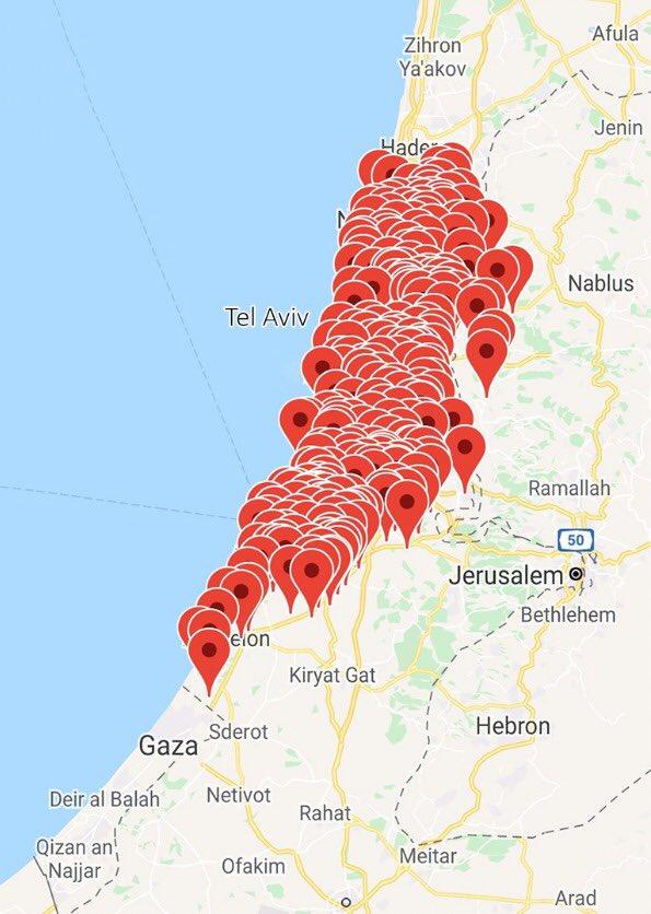 Cơn ác mộng chỉ mới bắt đầu, người Palestine giội hơn 100 quả rocket xuống thủ đô Israel - Ảnh 1.