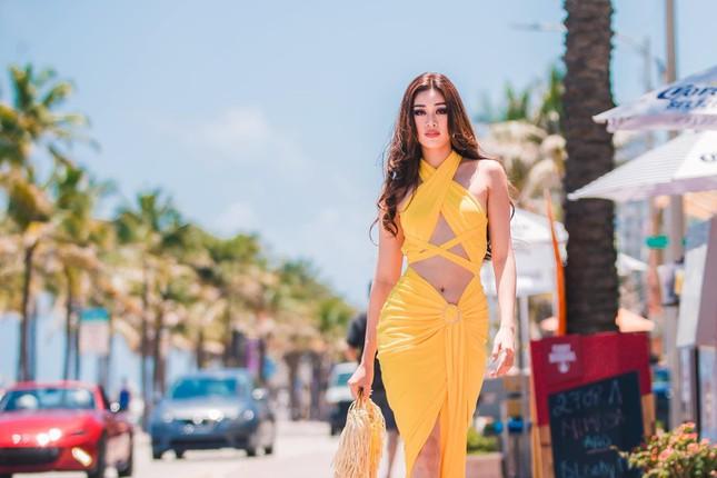 Khánh Vân ở Miss Universe: Ngày nào cũng chặt chém bằng body nóng bỏng - Ảnh 6.