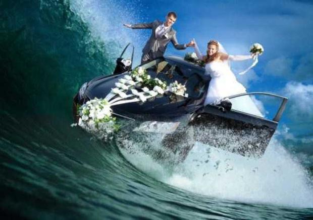 Tuyển tập những tấm ảnh cưới không đẹp tí nào nhưng chắc chắn cô dâu chú rể đều... vui tính - Ảnh 8.