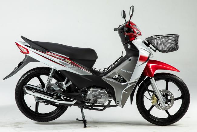 Cận cảnh mẫu xe máy Thái đi 100km tốn 2,2 lít xăng, giá 23 triệu -  thách thức Honda Wave Alpha - Ảnh 1.