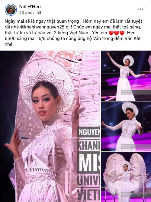 HHen Niê có động thái bất ngờ khi bị chê kém tinh tế với Khánh Vân tại Miss Universe - Ảnh 3.