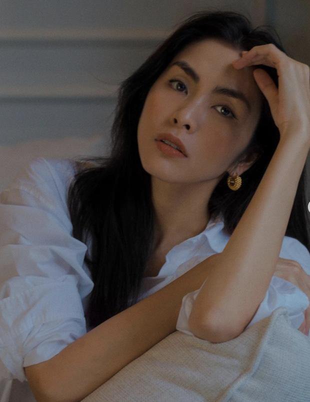 'Đào' lại ảnh của Hà Tăng năm 17 tuổi: Xứng danh ngọc nữ đẹp và thần thái, tóc ngắn cá tính ngời ngời khí chất đại mỹ nhân - ảnh 2