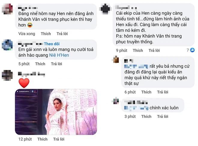 HHen Niê gây tranh cãi vì có hành động kém tinh tế khi Khánh Vân tỏa sáng trên sân khấu Miss Universe - Ảnh 4.