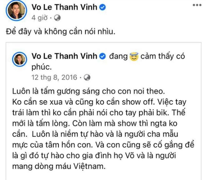 """Phản ứng của con trai Hoài Linh khi bố liên tục bị đại gia Nguyễn Phương Hằng """"dằn mặt"""" - Ảnh 2."""