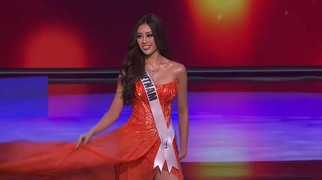 Ngắm trọn 3 phần thi bùng nổ, nóng bỏng của Khánh Vân trong bán kết Hoa hậu Hoàn vũ Thế giới 2020 - Ảnh 15.