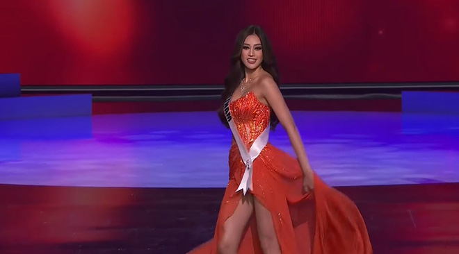 Ngắm trọn 3 phần thi bùng nổ, nóng bỏng của Khánh Vân trong bán kết Hoa hậu Hoàn vũ Thế giới 2020 - Ảnh 14.