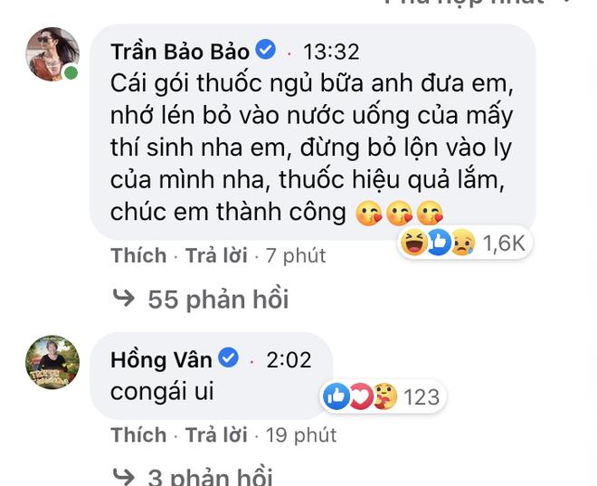 Khánh Vân livestream 15 phút mà đạt kỷ lục triệu view, NSND Hồng Vân và dàn sao Vbiz rôm rả vào động viên gây nổ MXH - Ảnh 6.