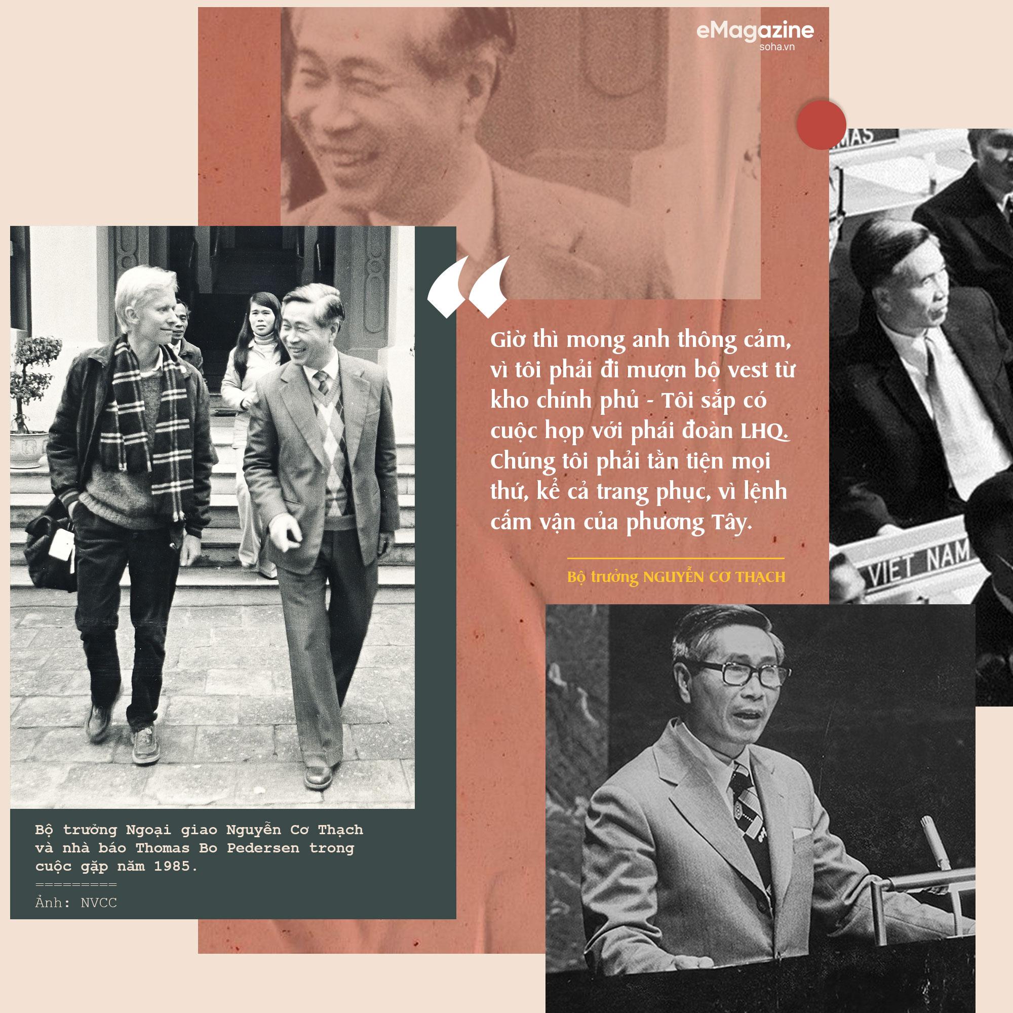 Bộ Âu phục đi mượn của ông Nguyễn Cơ Thạch và cuộc phỏng vấn sau màn thoát hiểm trước đạn pháo Trung Quốc - Ảnh 9.