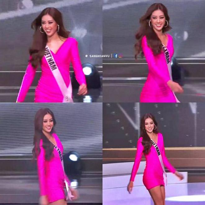Ngắm trọn 3 phần thi bùng nổ, nóng bỏng của Khánh Vân trong bán kết Hoa hậu Hoàn vũ Thế giới 2020 - Ảnh 4.