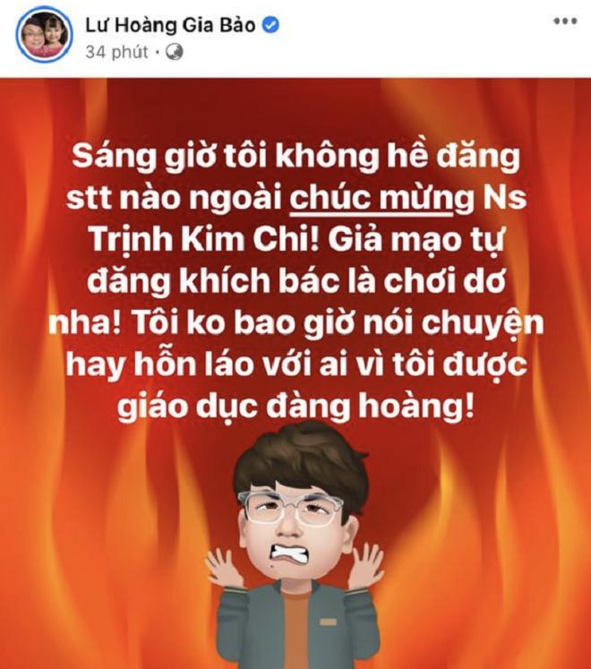 Bị đại gia Phương Hằng dọa gửi sách giáo dục công dân, Gia Bảo có phản ứng ra sao? - Ảnh 2.