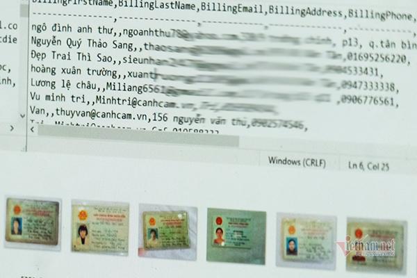 Hacker xóa dấu vết, gỡ dữ liệu công dân người Việt Nam - Ảnh 1.