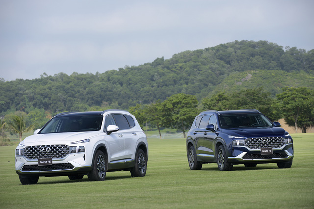 Hyundai Santa Fe 2021 chính thức ra mắt tại Việt Nam, giá từ 1,03 đến 1,34 tỷ đồng - Ảnh 7.
