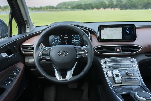 Hyundai Santa Fe 2021 chính thức ra mắt tại Việt Nam, giá từ 1,03 đến 1,34 tỷ đồng - Ảnh 8.