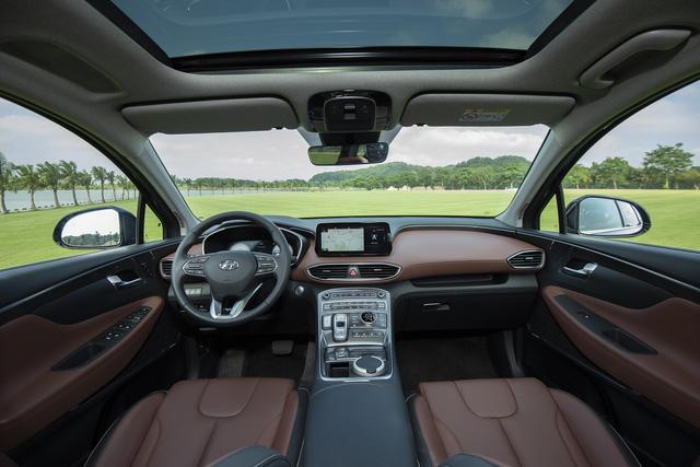 Hyundai Santa Fe 2021 chính thức ra mắt tại Việt Nam, giá từ 1,03 đến 1,34 tỷ đồng - Ảnh 9.