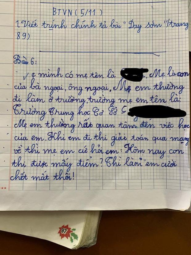 Học trò lớp 1 trổ tài viết văn miêu tả siêu lầy, người lớn đọc vào chỉ biết ôm bụng cười vì quá sức sáng tạo! - Ảnh 1.