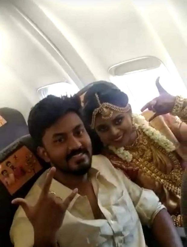 Lách luật cấm tụ tập, cặp đôi Ấn Độ tổ chức đám cưới trên máy bay, hình ảnh 161 khách chen lấn đông như kiến khiến MXH choáng váng - Ảnh 5.
