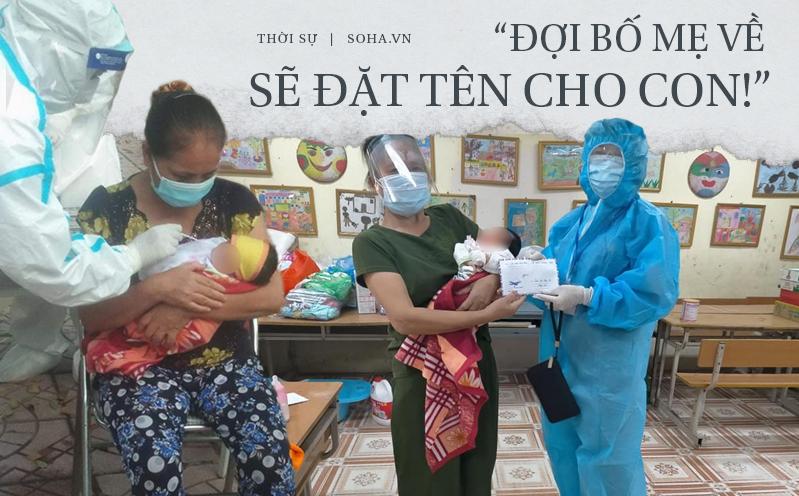 Mẹ nhiễm Covid-19, bố ung thư, bé gái sinh 3 ngày đã phải cách ly: 'Đợi mẹ về sẽ đặt tên cho con!'