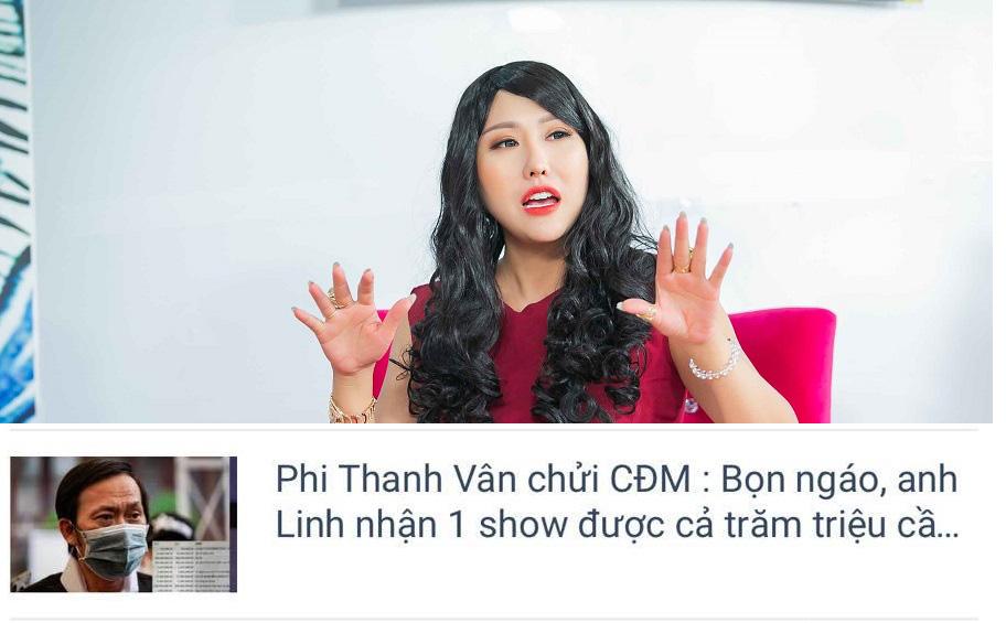 Bị nghi ngờ xúc phạm cộng đồng mạng, Phi Thanh Vân bức xúc:
