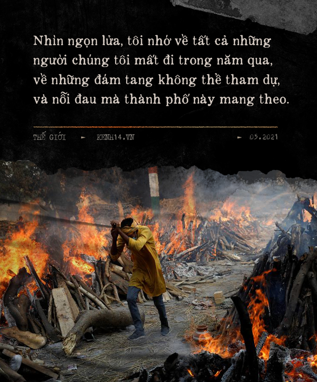 Một ngày tại lò hỏa táng giữa ''địa ngục Covid'' Ấn Độ: Khi cái chết là sự thật duy nhất trong các lò hỏa thiêu đang đỏ lửa ngày đêm - ảnh 12