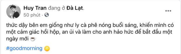 Huy Trần đã chịu tung ảnh 'full HD' nắm tay Ngô Thanh Vân ở Đà Lạt, kém 11 tuổi mà xưng hô 'anh - em' với chị đẹp ngọt xớt! - ảnh 2