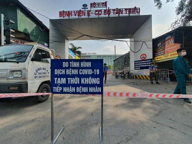 Thứ trưởng Bộ Y tế: Có 1 bệnh nhân dương tính SARS-CoV-2 đã lây cho 5 bệnh nhân và 4 người nhà; Phong tỏa cả 3 cơ sở Bệnh viện K Trung ương - Ảnh 1.