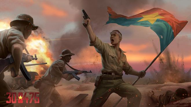 Hiker Games, cha đẻ của 7554 công bố dự án game mới: 300475, kể về ngày giải phóng lịch sử của người Việt - Ảnh 2.
