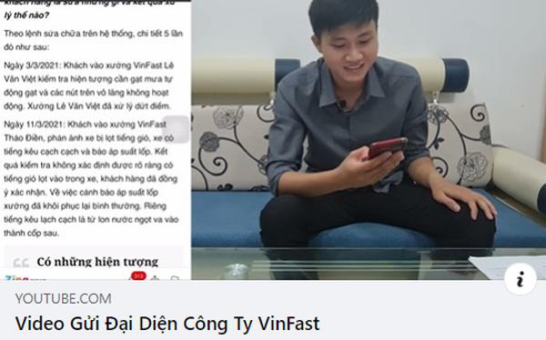 """Chủ kênh YouTube GoGo TV lại đăng Video gửi đại diện VinFast"""" nhưng xoá ngay sau 1 tiếng - Ảnh 1."""