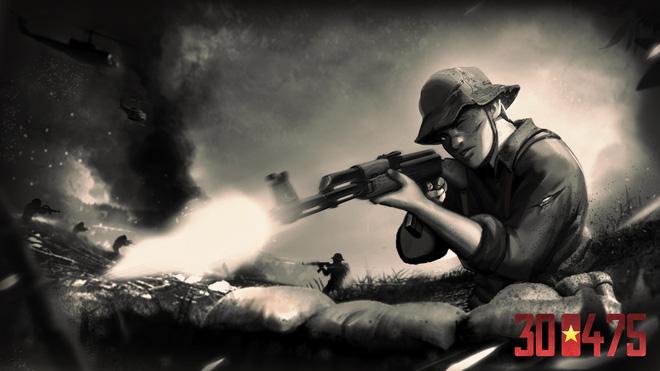 Hiker Games, cha đẻ của 7554 công bố dự án game mới: 300475, kể về ngày giải phóng lịch sử của người Việt - Ảnh 3.