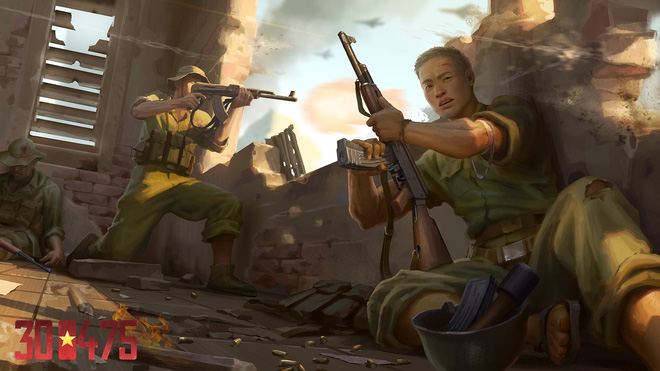 Hiker Games, cha đẻ của 7554 công bố dự án game mới: 300475, kể về ngày giải phóng lịch sử của người Việt - Ảnh 4.