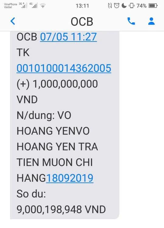 Lương y Võ Hoàng Yên đã chuyển trả vợ chồng đại gia Dũng lò vôi gần 17 tỷ đồng? - Ảnh 5.