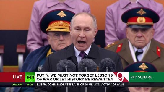 Duyệt binh ở Nga: Báo chí Phương Tây được phen dậy sóng với lời cảnh cáo của ông Putin? - Ảnh 1.