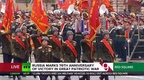 TRỰC TIẾP: Duyệt binh ở Quảng Trường Đỏ - Vô cùng hoành tráng, nhiều vũ khí hiện đại rầm rập tiến qua lễ đài - Ảnh 3.