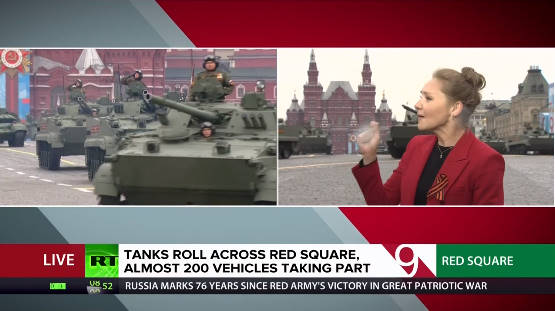 TRỰC TIẾP: Duyệt binh ở Quảng Trường Đỏ - Vô cùng hoành tráng, nhiều vũ khí hiện đại rầm rập tiến qua lễ đài - Ảnh 1.