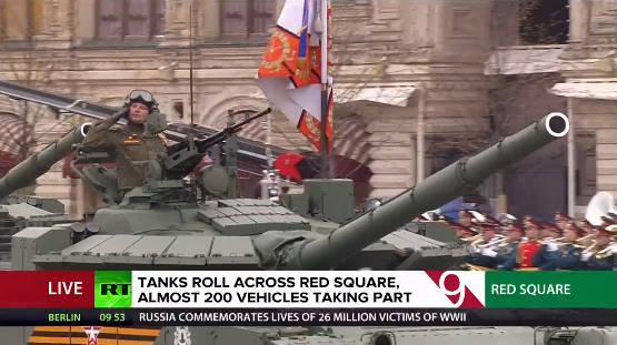 TRỰC TIẾP: Duyệt binh ở Quảng Trường Đỏ - Vô cùng hoành tráng, nhiều vũ khí hiện đại rầm rập tiến qua lễ đài - Ảnh 2.