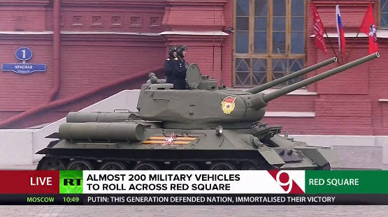 TRỰC TIẾP: Duyệt binh ở Quảng Trường Đỏ - Vô cùng hoành tráng, nhiều vũ khí hiện đại rầm rập tiến qua lễ đài - Ảnh 4.