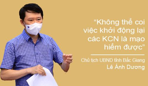 """Chủ tịch UBND tỉnh Lê Ánh Dương: """"Bắc Giang sẽ đóng góp cho cả nước về bài học ứng phó với dịch"""" - Ảnh 8."""