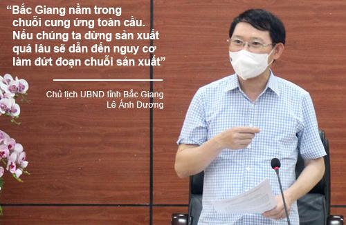 """Chủ tịch UBND tỉnh Lê Ánh Dương: """"Bắc Giang sẽ đóng góp cho cả nước về bài học ứng phó với dịch"""" - Ảnh 4."""