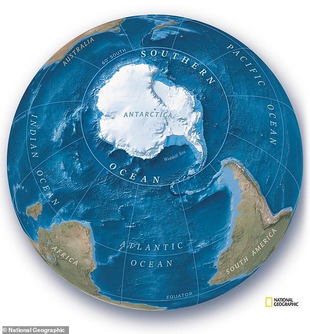 Bản đồ thế giới phải vẽ lại: Trái Đất có thêm 1 đại dương - Tạm biệt tập bản đồ cũ kỹ tồn tại 106 năm - Ảnh 1.