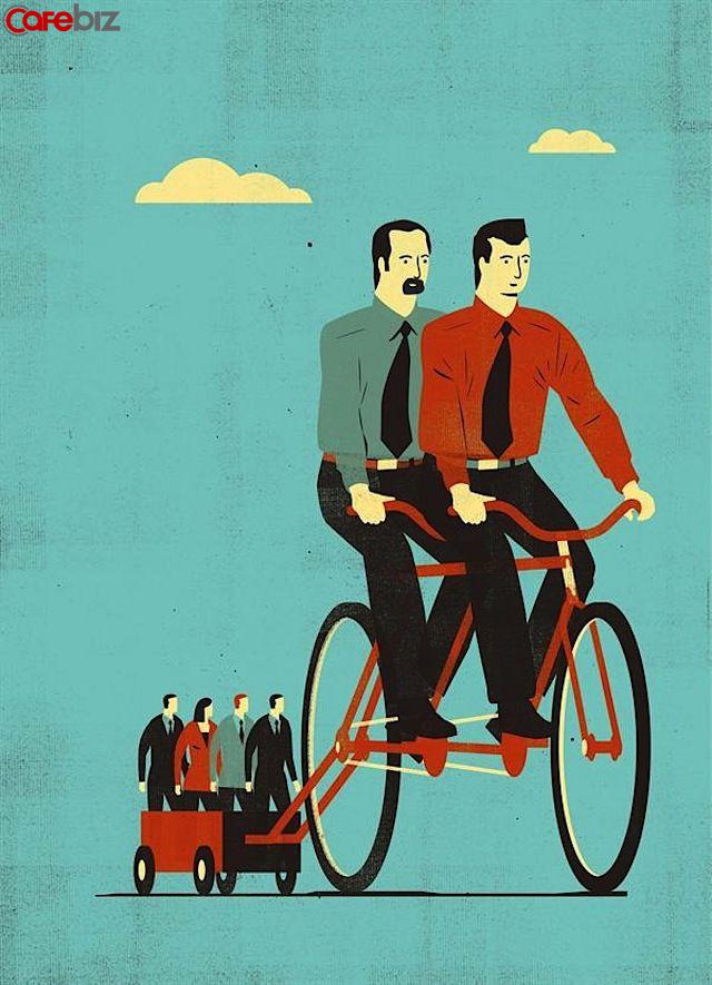 Tâm tư của người hết đát nơi làm việc: Khủng hoảng tuổi trung niên không phải do NGHÈO, mà do LƯỜI; Đầu đời biếng nhác, cuối đời bết bát! - Ảnh 1.