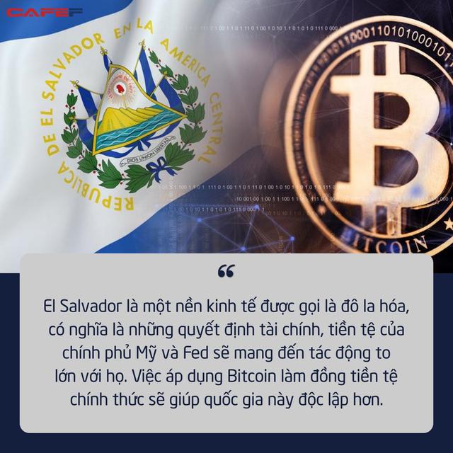 Thấy gì đằng sau quyết định 'bom tấn' của quốc gia đầu tiên chấp nhận Bitcoin làm phương tiện thanh toán chính thức? - ảnh 1