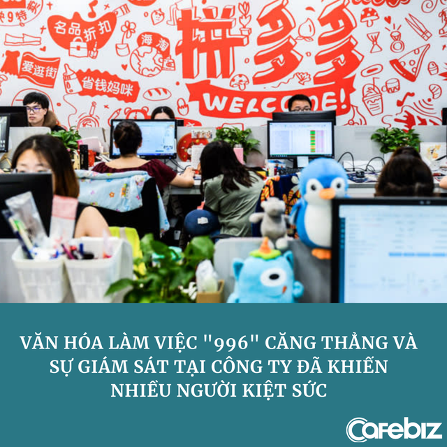 Nhân viên công nghệ Trung Quốc kiệt sức vì chat, duyệt web đều bị giám sát, đi WC lại bị theo dõi mùi và thời gian - Ảnh 3.