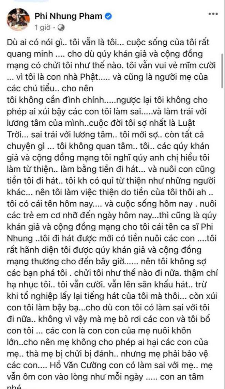 Phi Nhung cùng Hồ Văn Cường ngồi lại làm rõ ồn ào: Sốc khi bị con đâm sau lưng, phải đóng vai ác thì con mới chịu nghe lời - Ảnh 7.